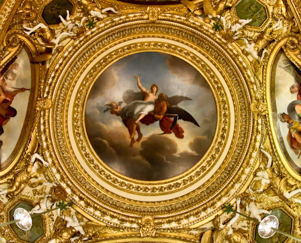 Le Temps Enlevant au Ciel la Verite