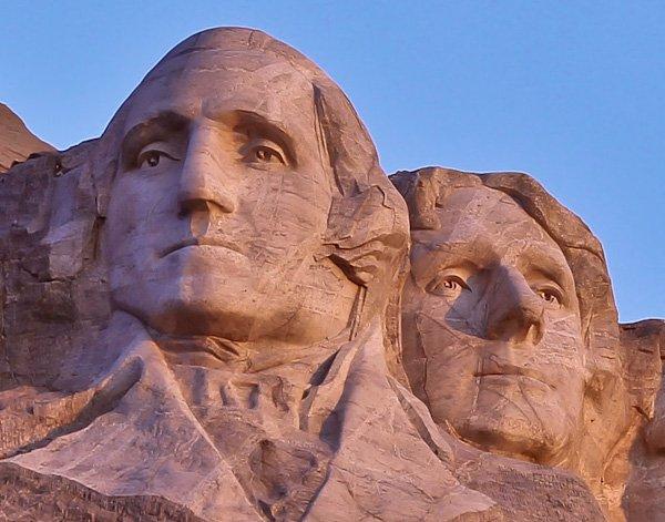 George Washington and Thomas Jefferson - Mount Rushmore