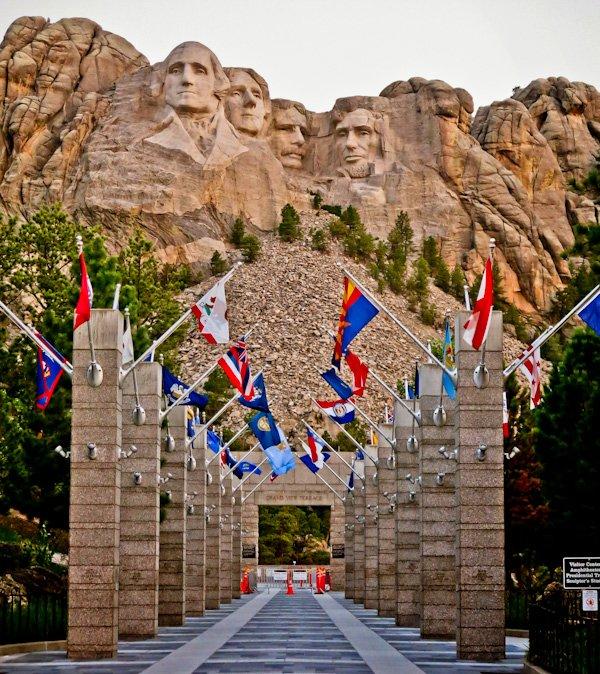 Mount Rushmore at Sunrise