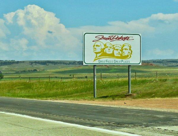 South Dakota Sign