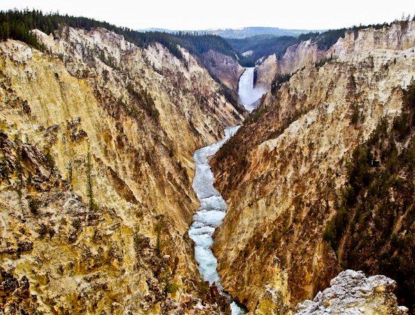Grand Canyon of Yellowstone Park