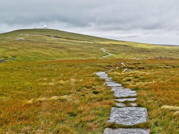 Great Dun Fell Summit - Pennine Way