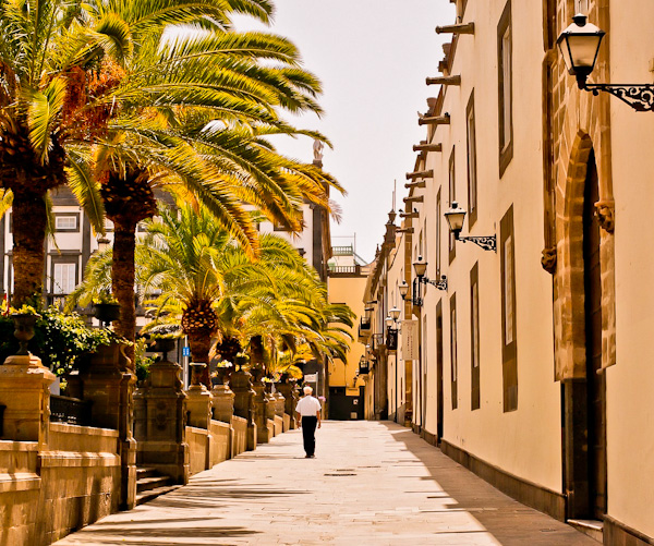 Biggest towns in the Canary Islands