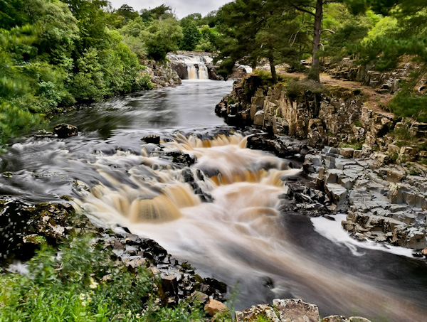 Low Force Waterfall - Pennine Way