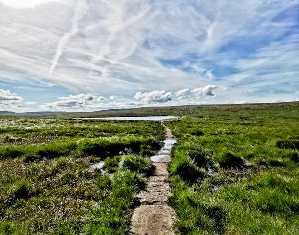 Black Moss Reservoir - Pennine Way Stage 2