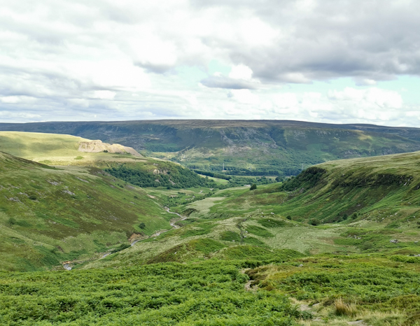 Crowden to Black Hill on the Pennine Way