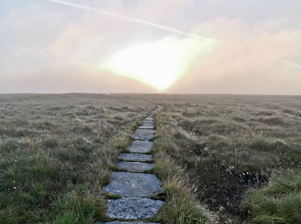 Moorland Walk to the Black Hill Summit - Pennine Way Stage 2