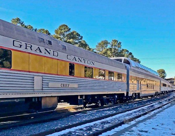 Grand Canyon Railway - Arizona Road Trip