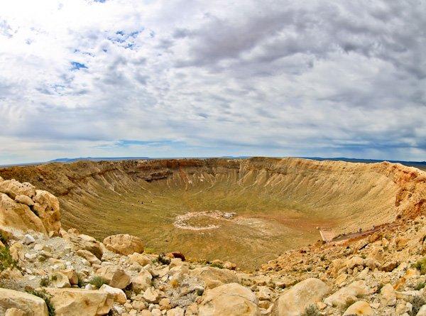 Meteor Crater, Arizona Road Trip