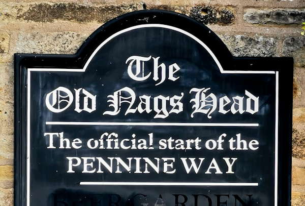 The Old Nags Head - Official Start of the Pennine Way