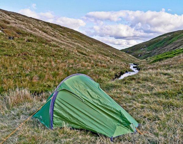 Wild Camping in Crowden - Pennine Way