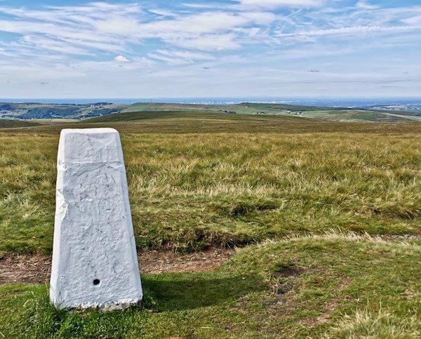 White Hill, Pennine Way