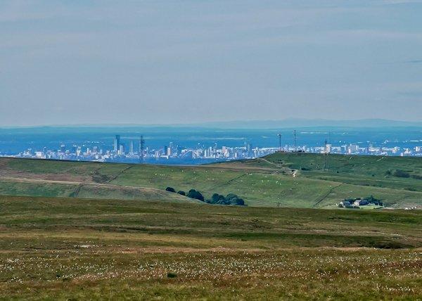 Panoramic Manchester View - Pennine Way
