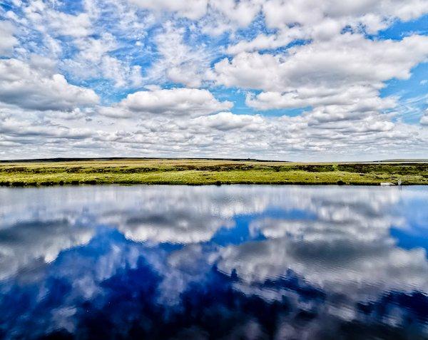 Warland Reservoir - Pennine Way