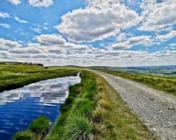 Light Hazzles Reservoir, Pennine Way