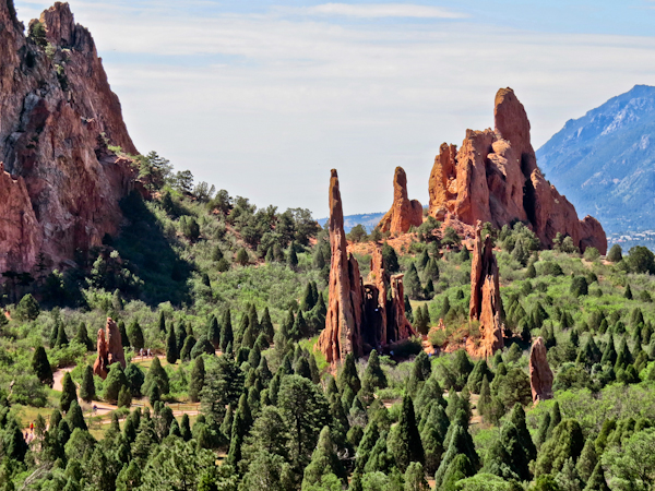 Garden of the Gods, Colorado Road Trip