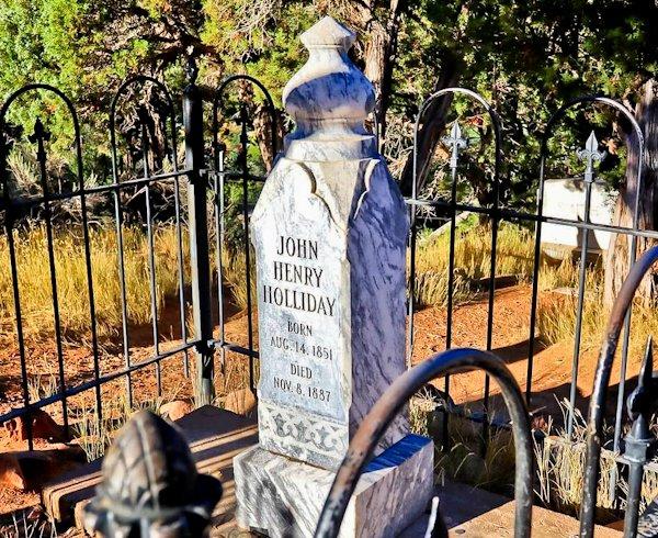 Doc Holliday's Grave, Colorado