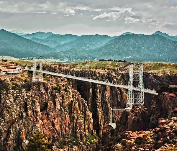 Royal George Bridge and Park, Colorado Road Trip