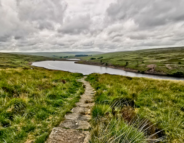Walshaw Dean Reservoir, Pennine Way