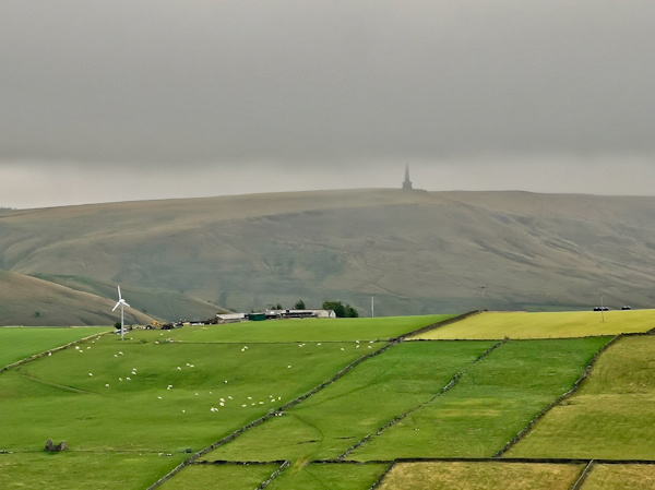 Stoodley Pike Viewpoint - Pennine Way