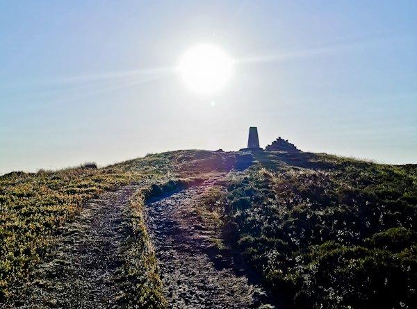 Pinhaw Beacon, Pennine Way