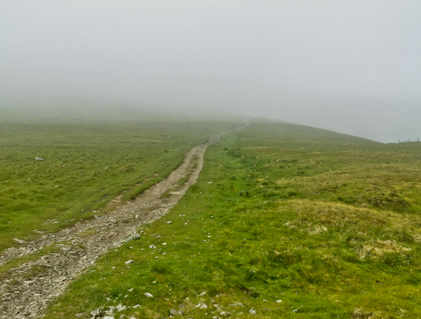 Descent to Hawes - Pennine Way Stage 7