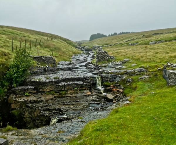Ascent from Horton in Ribblesdale - Pennine Way Day 7