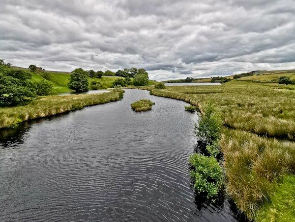 Blackton Reservoir Nature Reserve, Pennine Way