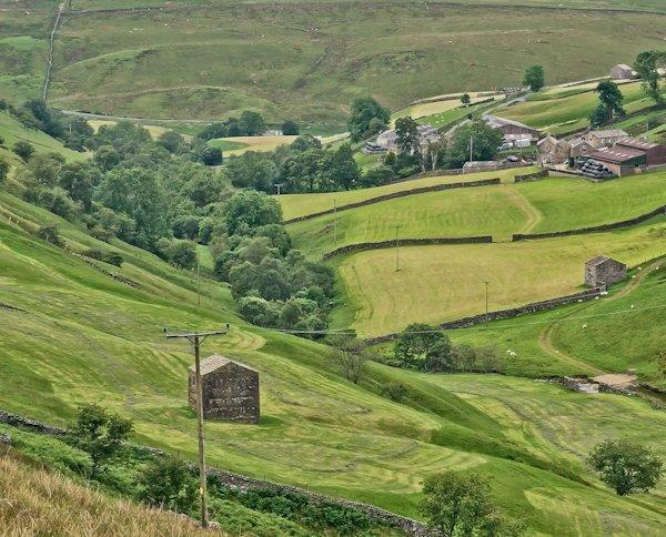 Two-Story Barns - Pennine Way