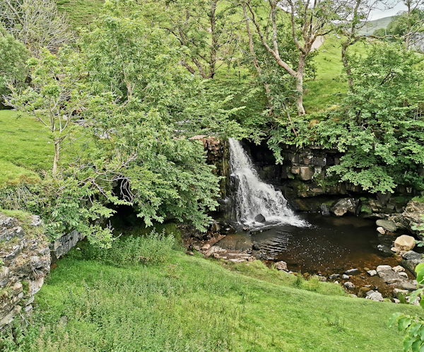 East Gill Force, Pennine Way