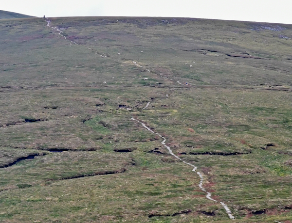 Great Shunner Fell Ascent - Pennine Way