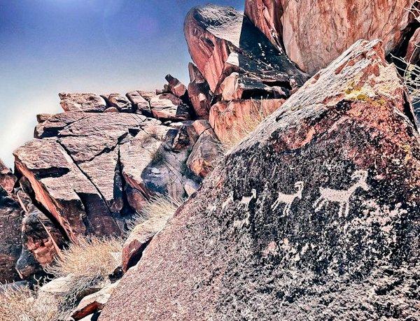 Nevada Road Trip - Grapevine Canyon Petroglyphs