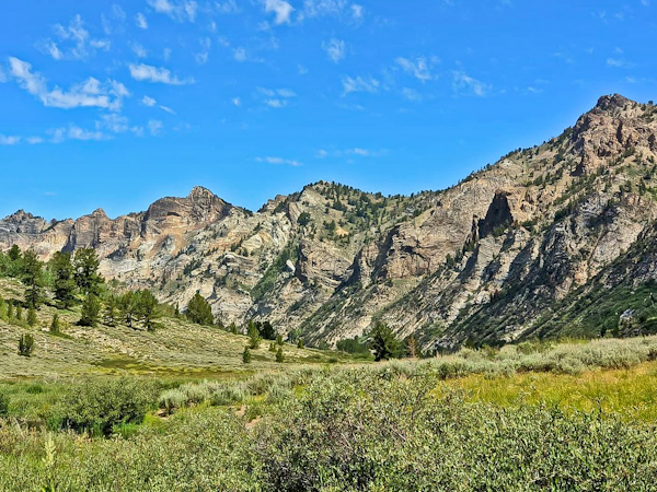 How to plan a Nevada Road Trip - Lamoille Canyon
