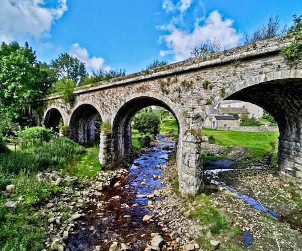 Railway Bridge at Knarsdale, Pennine Way Stage 12