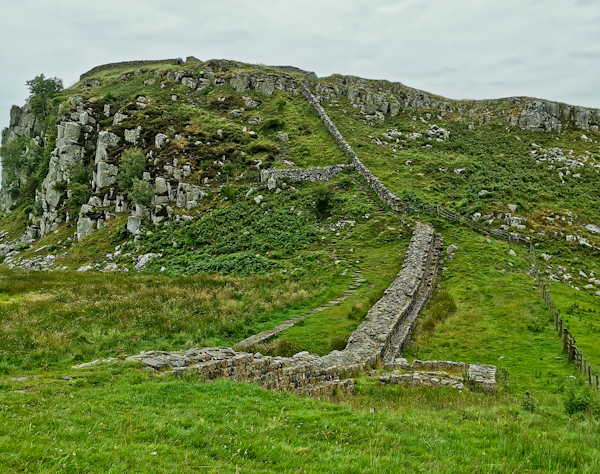 Ups and Downs on Hadrian's Wall