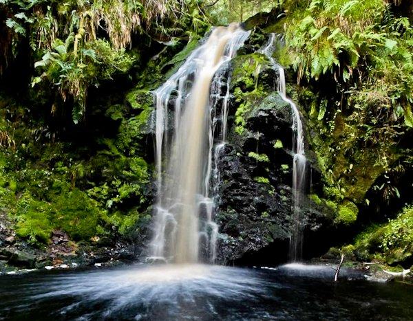 Hindhope Linn Waterfall - Pennine Way