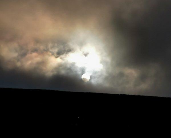 Sunrise in the Cheviots - Pennine Way