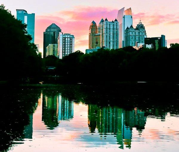 Atlanta Landmarks - Piedmont Park