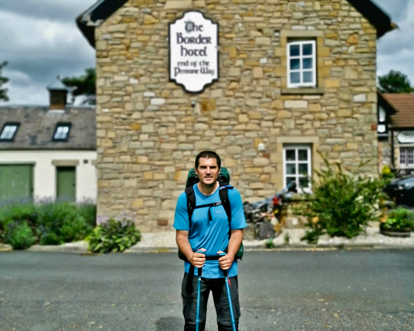 The Border Hotel - End of the Pennine Way