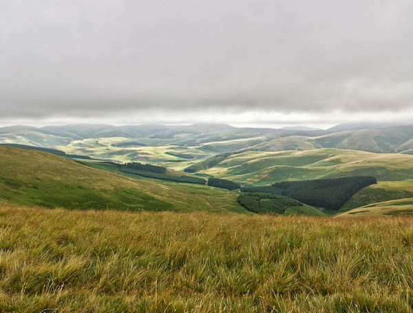 Pennine Way Final Stage - The Cheviots Views