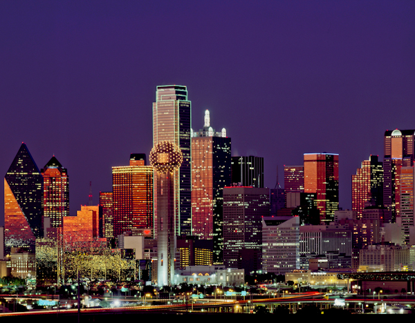 Dallas Landmarks - Bank of America Plaza