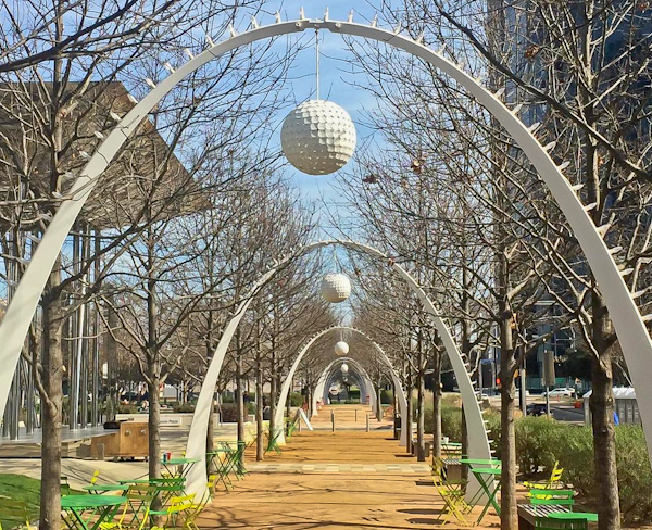 Dallas Landmarks - Klyde Warren Park