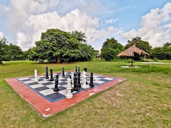 Large Chess Board, Lekki Conservation Centre